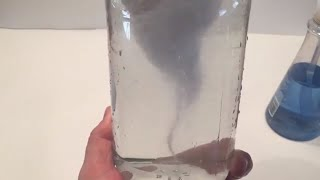 TORNADO in a jar experiment