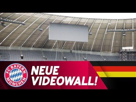 200 Quadratmeter! Die neuen Videowände in der Allianz Arena | FC Bayern