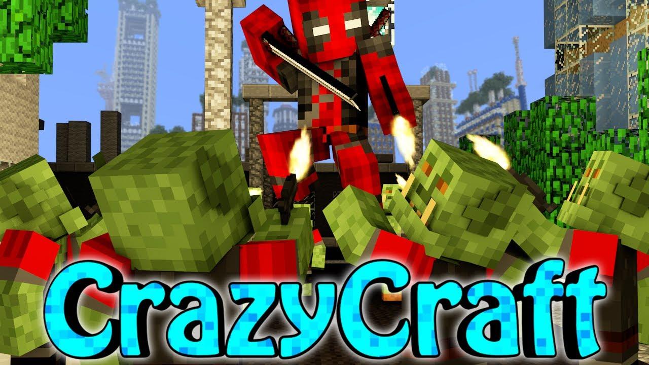 Minecraft crazycraft 2 0 orespawn modded survival ep 122