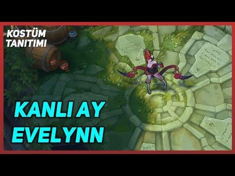Kanlı Ay Evelynn (Kostüm Tanıtımı) League of Legends
