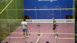 R. Ashour v G. Gaultier 2010 T.O.C. Squash
