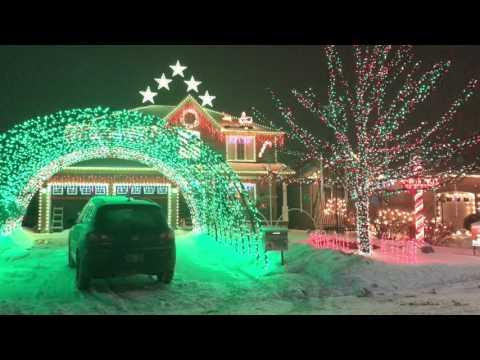 2017 Lambert's Lights Christmas Display