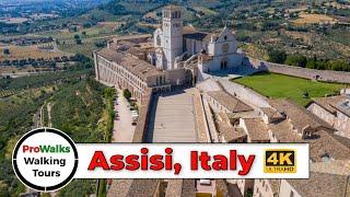 Assisi, Italy 2019 Walking Tour (4K/60fps)
