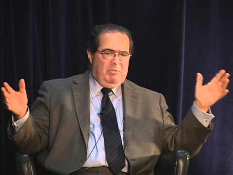 Legally Speaking: Antonin Scalia