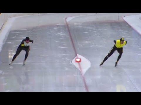 Sven Kramer 3000m - 3:37.45 (NR, TR) Inzell 07.10.2017 [last lap]