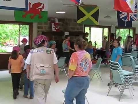 Girl Scouts Musical Chairs