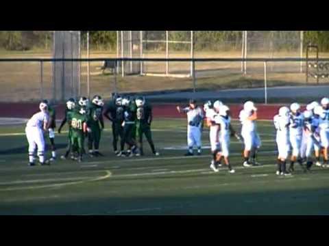 Leonard Sanford Jr. # 11 West Bloomfield High School Michigan Defensive stance
