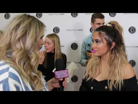 Fifth Harmony's Ally Brooke talks solo career and girl power -  BeautyCon 2018
