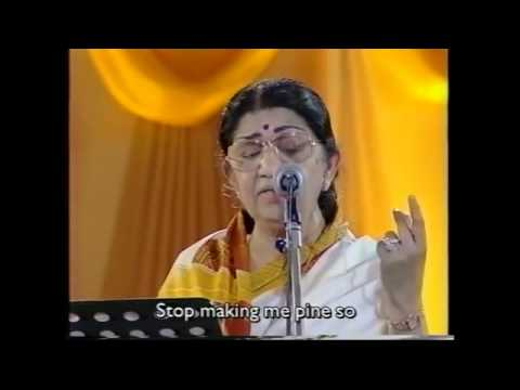 Lata Mangeshkar Live Performance