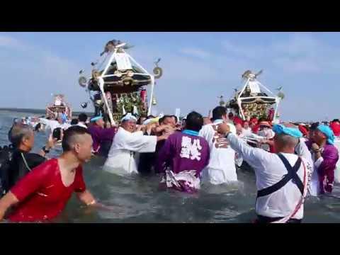 茅ケ崎 浜降祭 八大龍王 禊【暁の祭典】2018.7.16