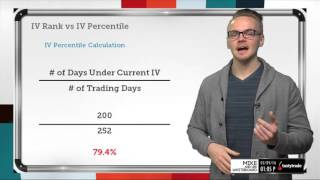 IV Rank vs. IV Percentile in Trading | Options Trading Concepts