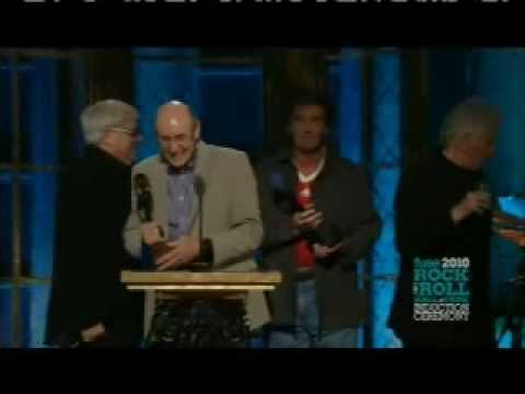 The Hollies Rock and Roll Hall of Fame Induction 2010 Part 3 of 4