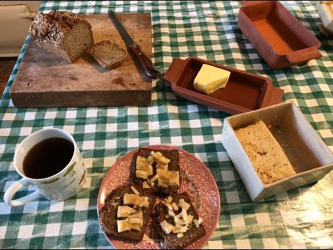 I've made a ritual of Elevenses ~ coffee, Aga toast with lashings of butter & honeycomb ritual