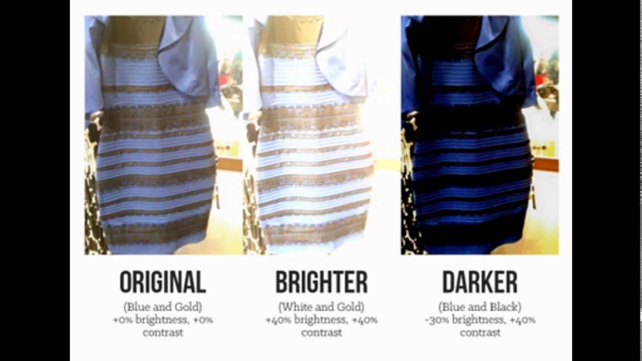 La robe mystere bleu et noir