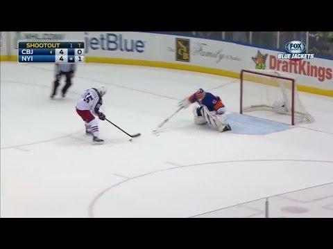 Shootout: Blue Jackets vs Islanders