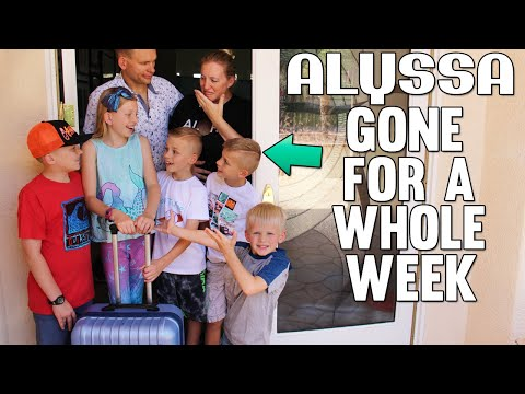 Alyssa GONE for a Week || Mommy Monday