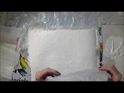 Adding Texture to an Acrylic Painting with Tissue Paper