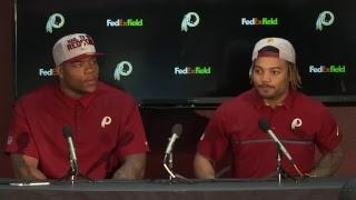 Redskins introduce Daron Payne & Derrius Guice