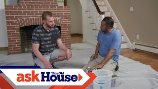 How to Whitewash Brick with Paint  Ask This Old House