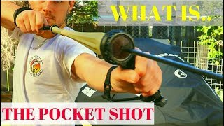 What Is The POCKET SHOT? Bow And Arrow That Can Fit In Your Pocket