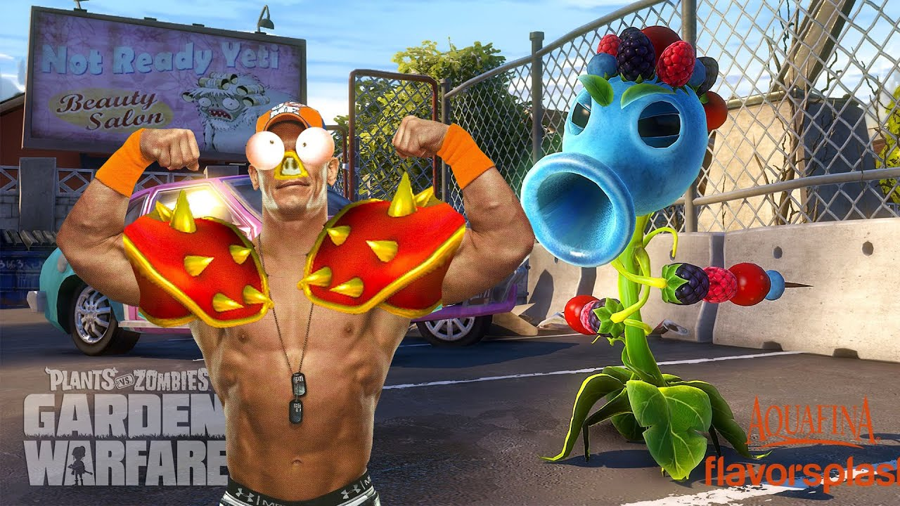 Plants vs. Zombies Garden Warfare Now Available for PlayStation ...