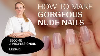 How to make gorgeous nude nails