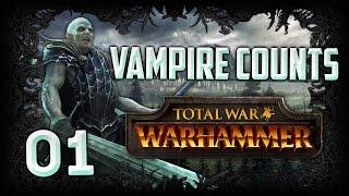 [1] Total War: Warhammer (Vampire Counts) Campaign Walkthrough w/ SurrealBeliefs