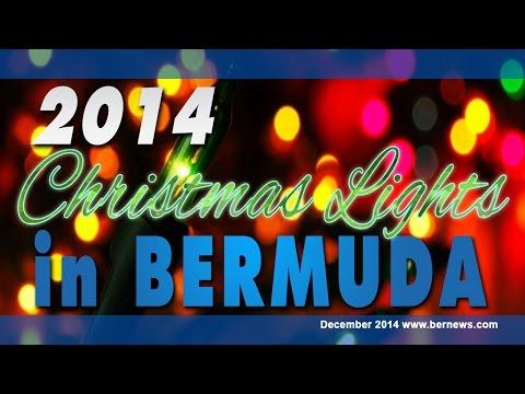 Christmas Lights In Bermuda, December 2014