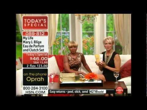 Oprah Calls in for Mary J. Blige Premiere on HSN!