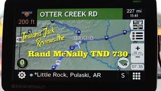 Indiana Jack Reviews the Rand McNally TND 730 in MOTION