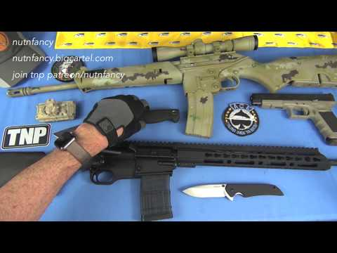 When AR15s are Illegal:  SCR Rifle Review