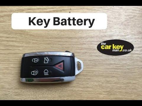 Jaguar XF Key Battery change HOW TO