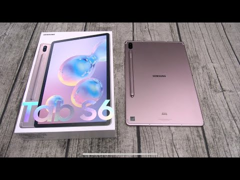 Samsung Galaxy Tab S6 - Unboxing And First Impressions