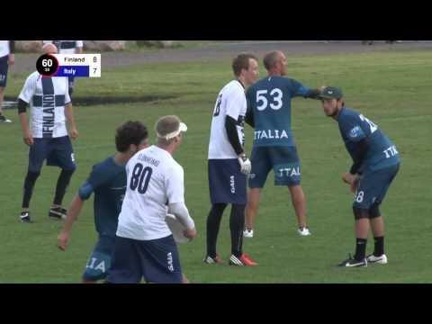 EUC 2015   Finland vs Italy - Open (Pool Play)