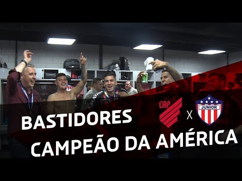 FINAL: Parte 2 - Atlético Paranaense X Junior Barranquilla | BASTIDORES