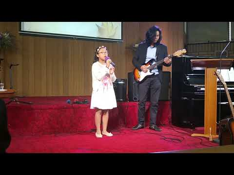 I will trust in you - Lauren Daigle cover by Zoey 10 yrs old
