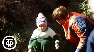 Покорение скорости Документальный фильм о детской горнолыжной школе 1978