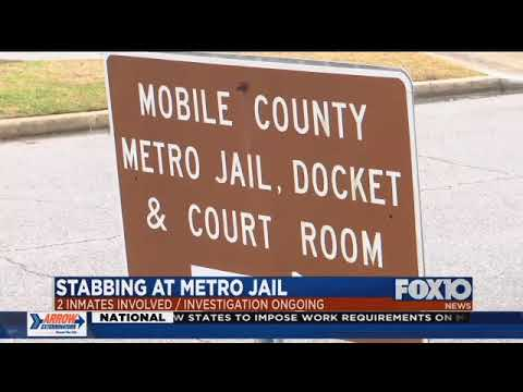 2 inmates involved in stabbing at Mobile County Metro Jail identified