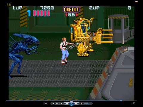 Aliens Arcade Game (Konami)