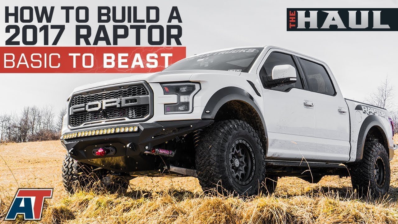 HOW TO BUILD A RAPTOR, from basic to BEAST!