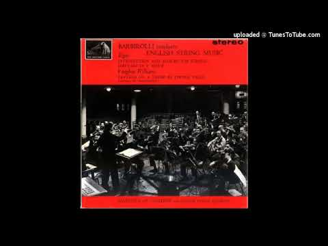 Edward Elgar : Introduction and Allegro for string quartet and string orchestra Op. 47 (1904-05)