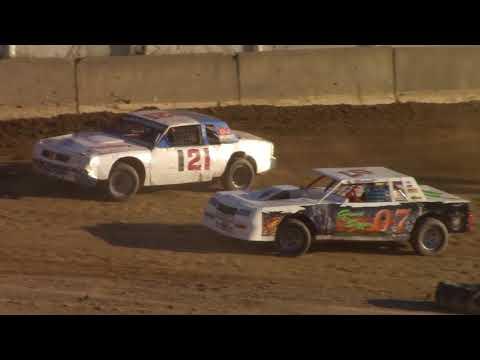 Old Bradford Speedway Pure Stock Heat Races 7-8-18