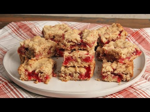 Breakfast Cranberry Oatmeal Bars | Ep. 1303