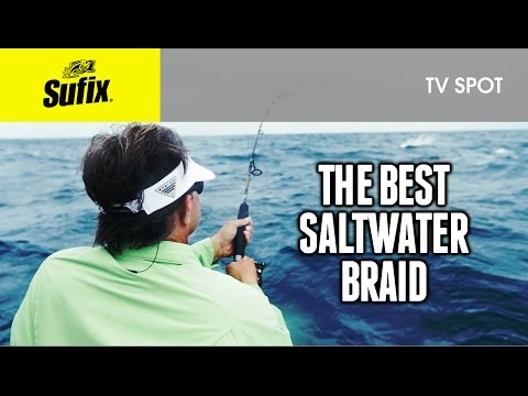 The Best Saltwater Braided Line: Sufix® 832 Advanced Superline
