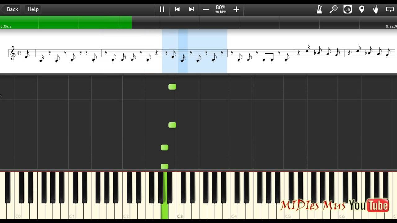 Миди мелодии на синтезаторе
