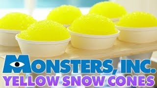 MONSTERS INC YELLOW SNOW CONES - NERDY NUMMIES