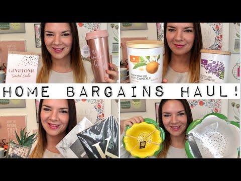 Home Bargains Haul! October 2018