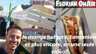 Je mange bulgare, tanzanien, etc.. en une seule vidéo -VLOG #206