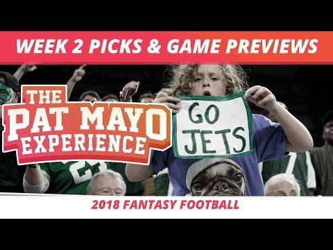 2018 Fantasy Football — Week 2 Picks, NFL Game Previews, Injuries And Survivor