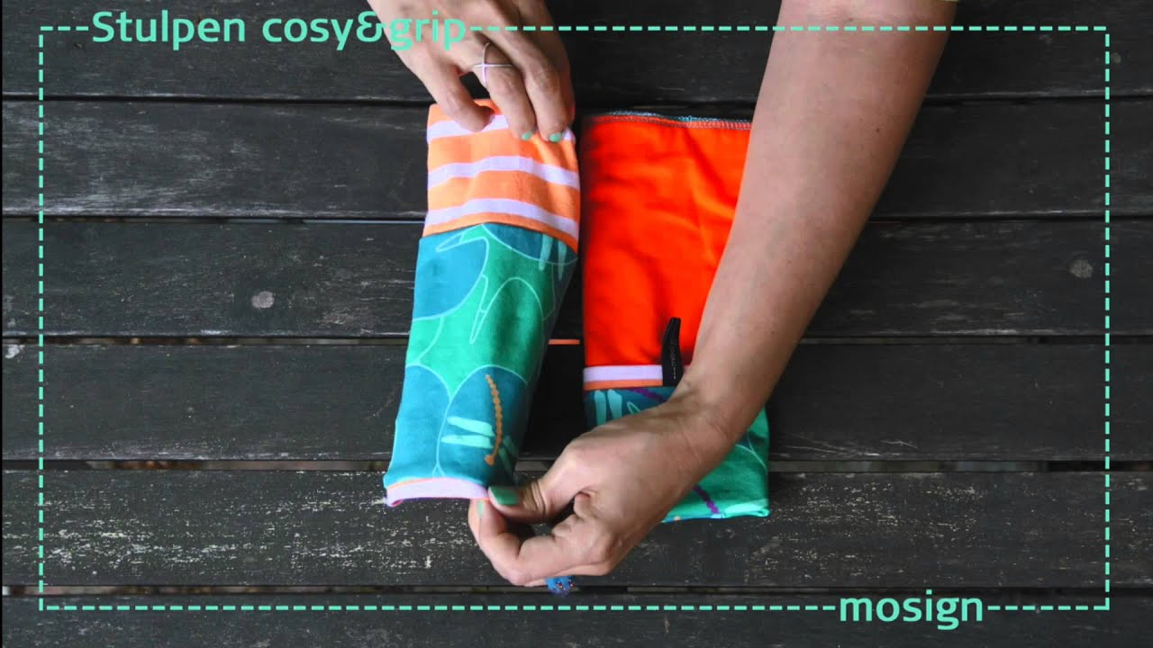 How to Stulpen cosy&grip by mosign - YouTube